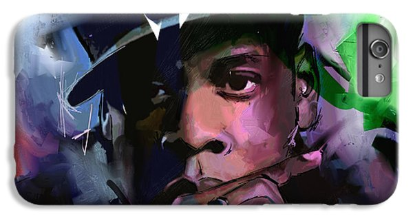 Jay Z IPhone 6 Plus Case by Richard Day