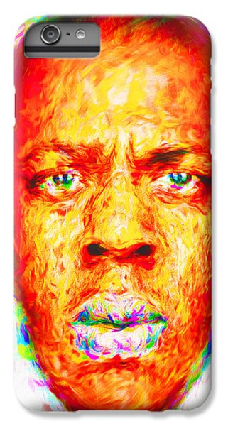 Jay-z Shawn Carter Digitally Painted IPhone 6 Plus Case