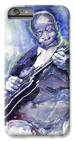 Jazz B B King 02 IPhone 6 Plus Case by Yuriy  Shevchuk