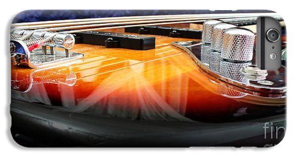 Guitar iPhone 6 Plus Case - Jazz Bass Beauty by Todd Blanchard