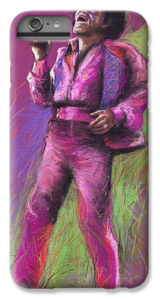 Jazz James Brown IPhone 6 Plus Case by Yuriy  Shevchuk