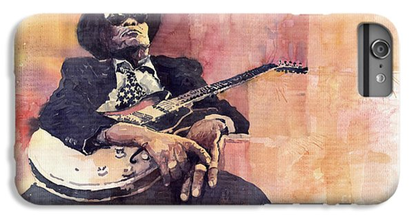 Jazz iPhone 6 Plus Case - Jazz John Lee Hooker by Yuriy Shevchuk