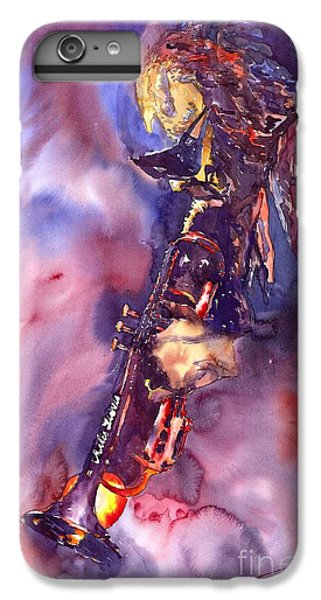 Figurative iPhone 6 Plus Case - Jazz Miles Davis Electric 3 by Yuriy Shevchuk