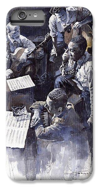 Jazz iPhone 6 Plus Case - Jazz Parker Tristano Bauer Safransky Rca Studio Ny 1949 by Yuriy Shevchuk