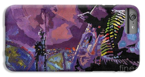 Trumpet iPhone 6 Plus Case - Jazz.miles Davis.4. by Yuriy Shevchuk