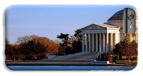 Jefferson Memorial Sunset IPhone 6 Plus Case by Olivier Le Queinec