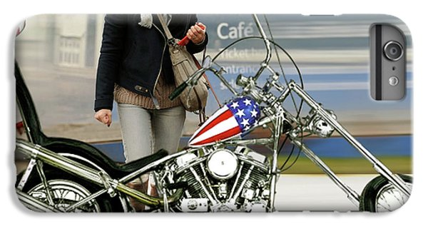 Jessica Alba, Captain America, Easy Rider IPhone 6 Plus Case