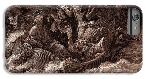 Jesus Stilling The Tempest IPhone 6 Plus Case by Gustave Dore