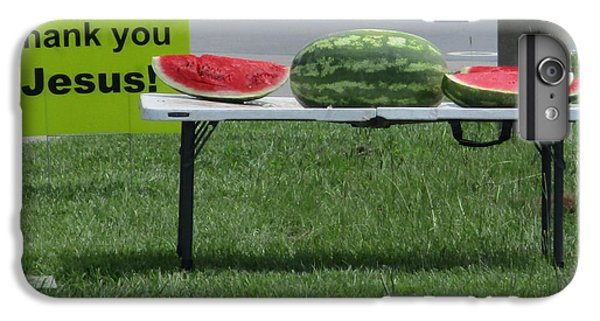 Jesus Watermelon IPhone 6 Plus Case