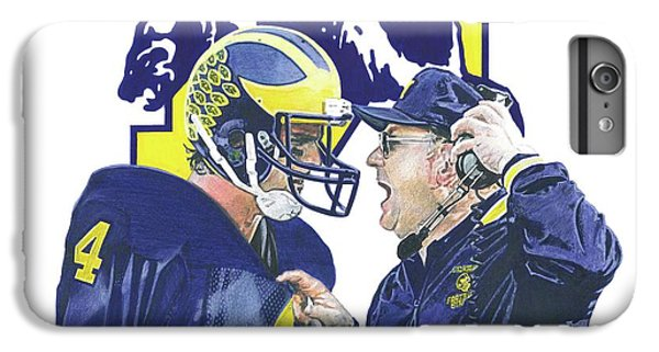 Jim Harbaugh And Bo Schembechler IPhone 6 Plus Case