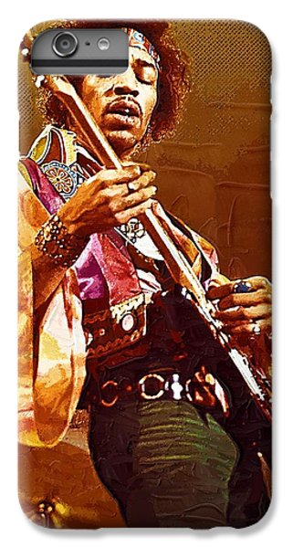 Jimi Hendrix Art IPhone 6 Plus Case