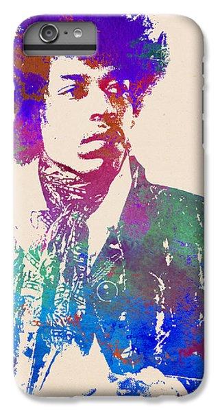 Jimi Hendrix Art Print IPhone 6 Plus Case