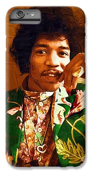 Jimi Hendrix Portrait IPhone 6 Plus Case