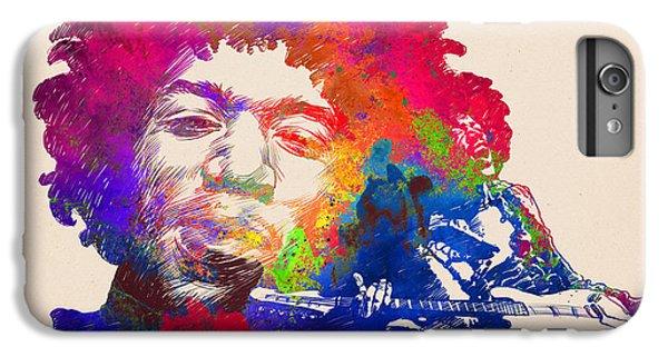 Jimi Hendrix Print IPhone 6 Plus Case