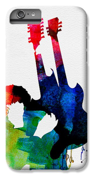 Jimmy Watercolor IPhone 6 Plus Case by Naxart Studio