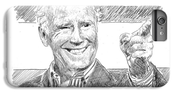 Joe Biden IPhone 6 Plus Case by Shawn Vincelette