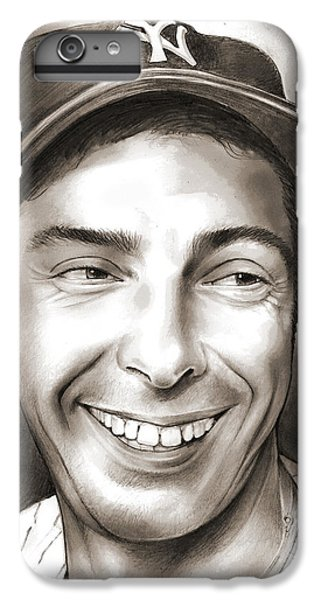 New York Yankees iPhone 6 Plus Case - Joe Dimaggio by Greg Joens