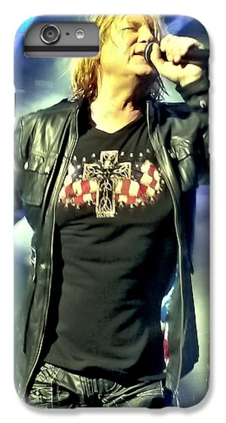 Joe Elliott Of Def Leppard IPhone 6 Plus Case