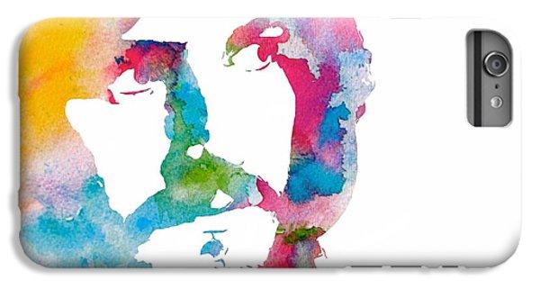 Rock Music Jimmy Page iPhone 6 Plus Case - John Bonham Watercolor by Dan Sproul