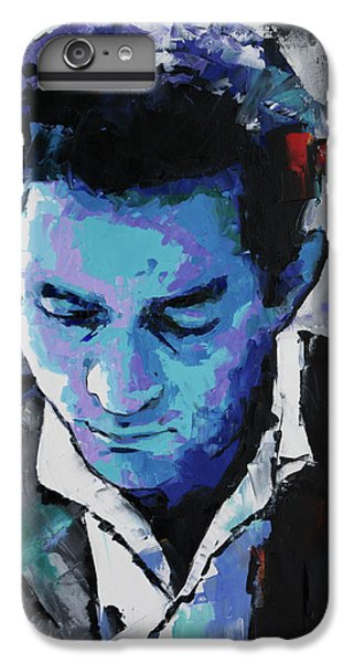 Johnny Cash IPhone 6 Plus Case by Richard Day