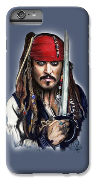 Johnny Depp As Jack Sparrow IPhone 6 Plus Case
