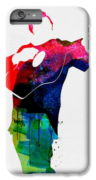 Johnny Watercolor IPhone 6 Plus Case by Naxart Studio