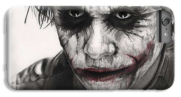 Joker Face IPhone 6 Plus Case by James Holko