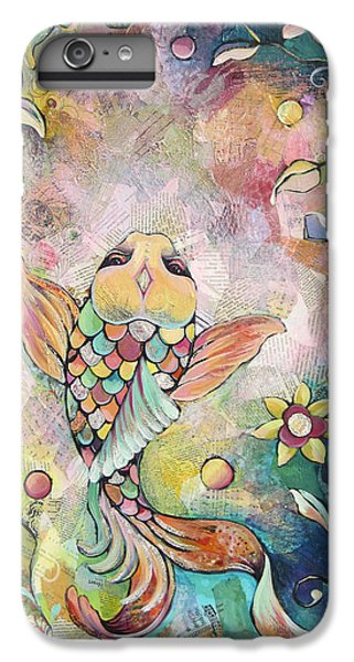 Joyful Koi I IPhone 6 Plus Case by Shadia Derbyshire