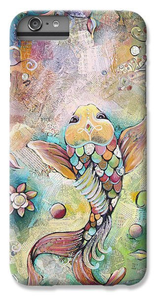 Joyful Koi II IPhone 6 Plus Case by Shadia Derbyshire