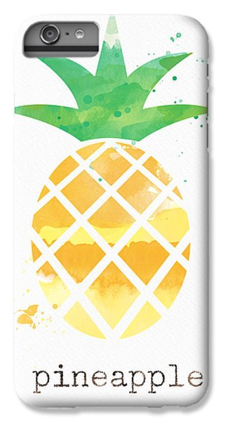 Fruit iPhone 6 Plus Case - Juicy Pineapple by Linda Woods