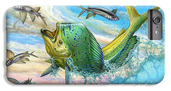 Jumping Mahi Mahi And Flyingfish IPhone 6 Plus Case