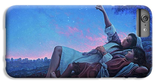 Planets iPhone 6 Plus Case - Just For A Moment by Greg Olsen