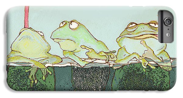 Just Hanging IPhone 6 Plus Case by Peggy Wilson
