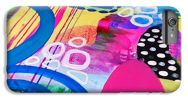 iPhone 6 Plus Case - Just Playin Around With Paints Today by Robin Mead