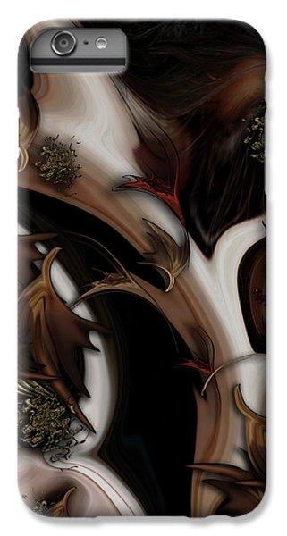 IPhone 6 Plus Case featuring the digital art Juxtaposed Nature by Carmen Fine Art