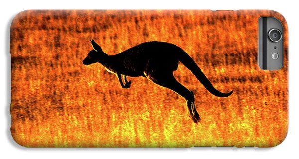 Kangaroo Sunset IPhone 6 Plus Case by Bruce J Robinson
