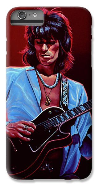 Goat iPhone 6 Plus Case - Keith Richards The Riffmaster by Paul Meijering