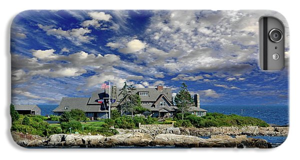 Kennebunkport, Maine - Walker's Point IPhone 6 Plus Case by Russ Harris