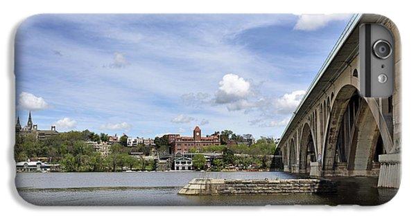 Key Bridge Into Georgetown IPhone 6 Plus Case by Brendan Reals