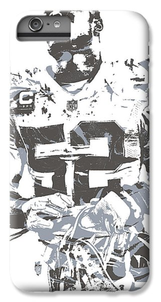 3b7318093 Oakland Raiders iPhone 6 Plus Case - Khalil Mack Oakland Raiders Pixel Art  20 by Joe