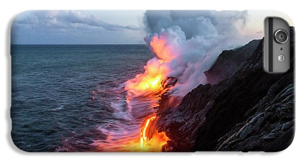 Kilauea Volcano Lava Flow Sea Entry 3- The Big Island Hawaii IPhone 6 Plus Case