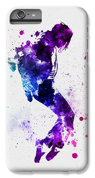King Of Pop IPhone 6 Plus Case by Rebecca Jenkins