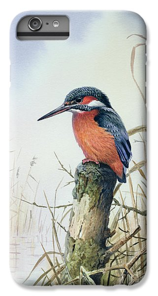 Kingfisher iPhone 6 Plus Case - Kingfisher by Carl Donner