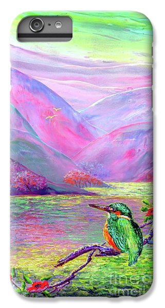 Kingfisher, Shimmering Streams IPhone 6 Plus Case