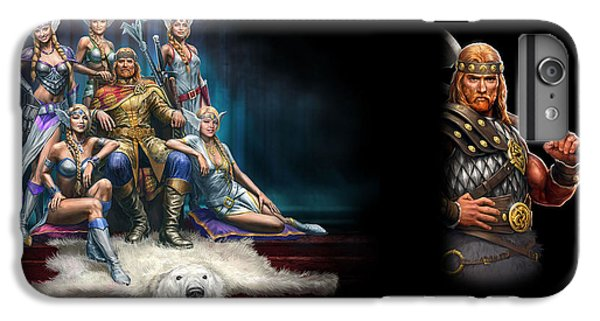 Design iPhone 6 Plus Case - King's Bounty Warriors Of The North by Maye Loeser