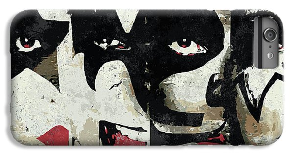 Rock And Roll iPhone 6 Plus Case - Kiss Art Print by Geek N Rock