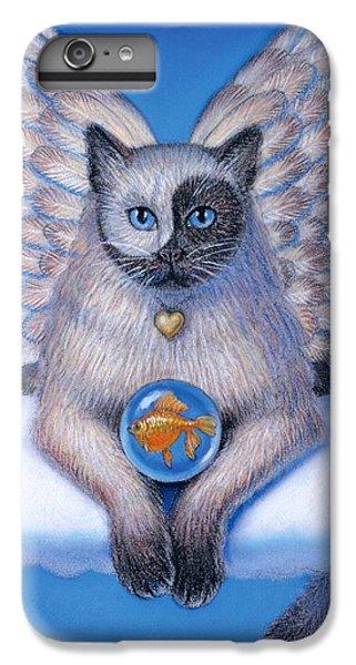 Kitty Yin Yang- Cat Angel IPhone 6 Plus Case