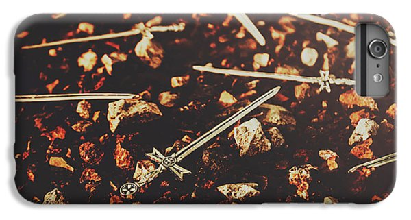 Rock Legend iPhone 6 Plus Case - Knightly Fight by Jorgo Photography - Wall Art Gallery