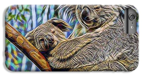 Koala Bear Mom And Child IPhone 6 Plus Case