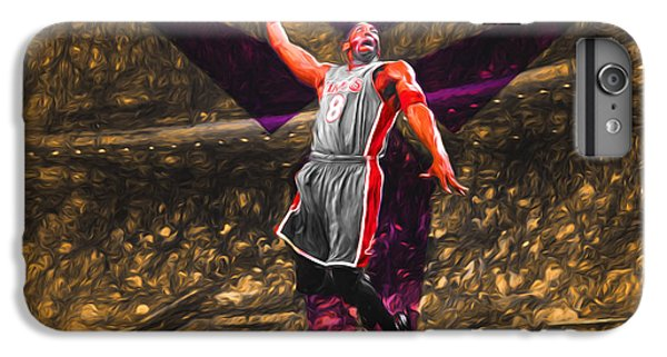 Kobe Bryant Black Mamba Digital Painting IPhone 6 Plus Case